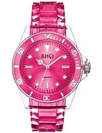 Mango A75101P14A - Reloj para mujeres, correa de silicona color rosa