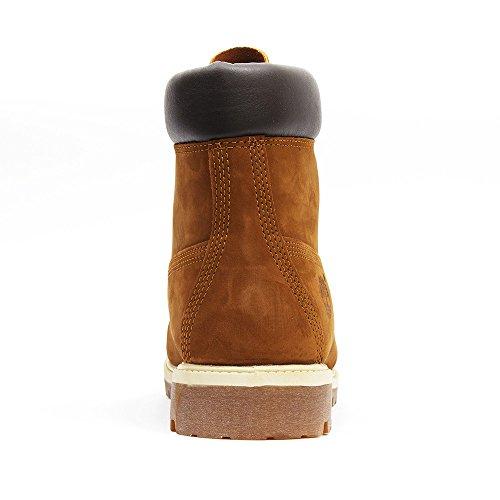 Timberland 6 Inch Premium Waterproof Stivali Uomo Roggio