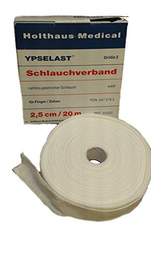 YPSELAST Schlauchverband 20 m x 2,5 cm Gr. 2, Finger/Zehen