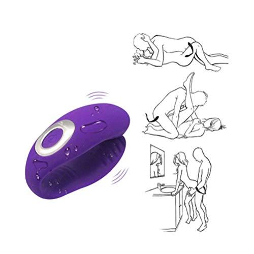 Adult Toys El potente masajeador de mano a prueba de agua La carga USB de silicona de 10 velocidades...