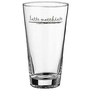 wmf latte macchiato glas set clever more glas l ffel sp lmaschinengeeignet k che. Black Bedroom Furniture Sets. Home Design Ideas