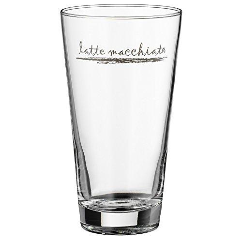 WMF Latte Macchiato Glas Set Clever & More Glas Löffel spülmaschinengeeignet