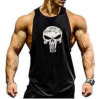 Bodybuilding Gym Tank Tops Workout Fitness Vest For Men,Black