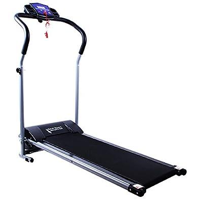 Elektro Laufband BP7 10km/h 1 PS indoor laufen Jogging Fitnessgerät
