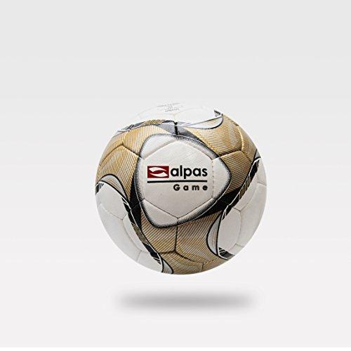 10x alpas Top Spielball Game / Fussball / Fußbälle Gr. 4 oder 5 + Ballsack kostenlos