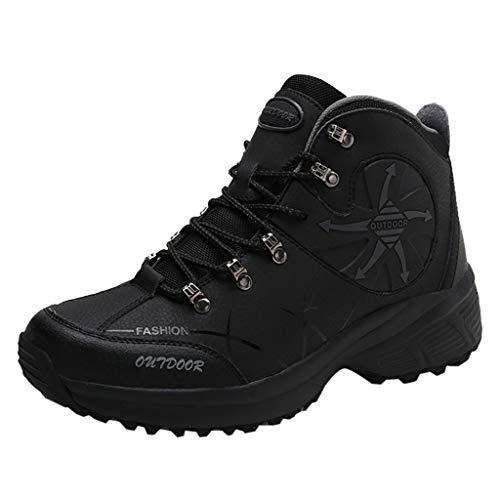 Bellelove Wanderschuhe Wasserdicht Trekking Schuhe Herren Damen Sports Outdoor Gleitsicher Hiking Boots Men Women Waterproof Trekking-& Wanderhalbschuhe Dämpfung Sneaker 36-46
