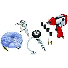 Einhell 4020565 - Set de aire comprimido, presión de trabajo 6.3 bar, consumo de