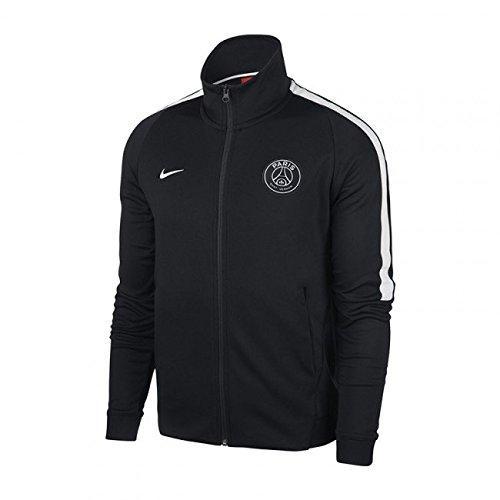 2017-2018 PSG Nike Authentic Franchise Jacket (Black)
