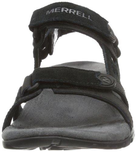 Merrell Sandspur Convertible, Sandales Bout ouvert homme Black (Black)