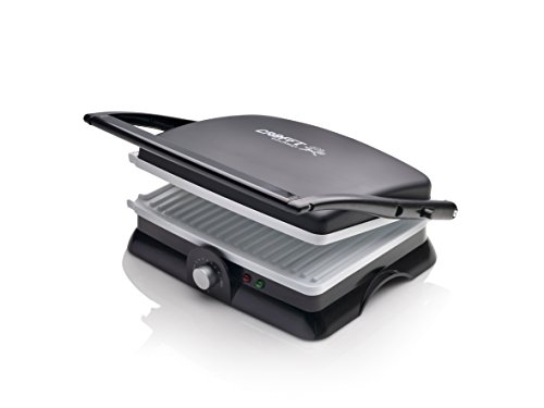 Crafft CPAC2000BL - Sandwichera, plancha press grill, cerámica 2000 W