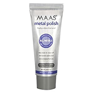 Maas® Concentrated Metal Polishing Crème 57g