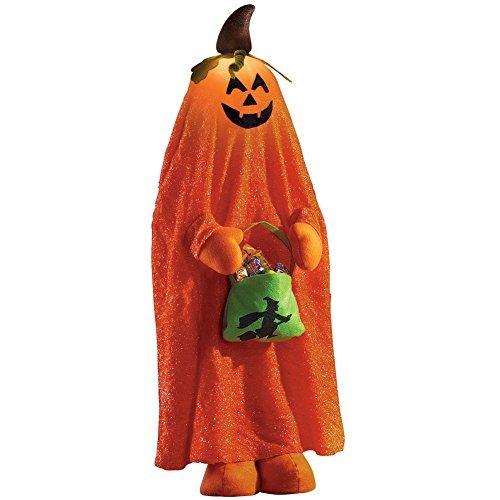Collections Etc Beleuchtet Halloween Charakter Dekorationen, Kürbis (Dekoration Beleuchtete Halloween-kürbis)