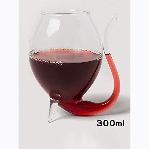 WLDD Nordisches Kreatives Sippy Cup Rotweinglas. Saft Trinken Bierkrug. Handgefertigte Hitzebeständige Glas Bar Persönlichkeit Weinglas (Farbe : 6 Pack) - Saft Sippy Cup