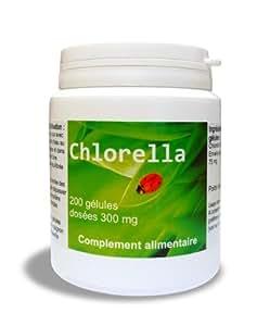 Chlorella 200 gélules - Un puissant détoxifiant