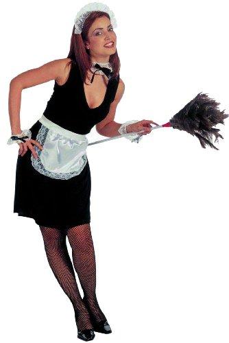 Bilder Ideen Halloween Kostüm (Widmann 6665C - Kostümset Hausmädchen, Kopf-, Hals- und Handgelenkschmuck, Rock und Schürze,)