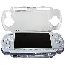 OSTENT Protector Clear Crystal Reise Tragen Hard Cover Case Shell Kompatibel für Sony PSP 2000 3000