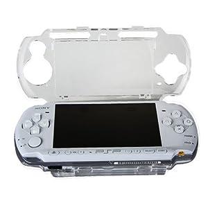 OSTENT Klar Kristall Reise Tragen Hart Fall Abdeckung Schale Schutz Kompatibel für Sony PSP 2000 3000