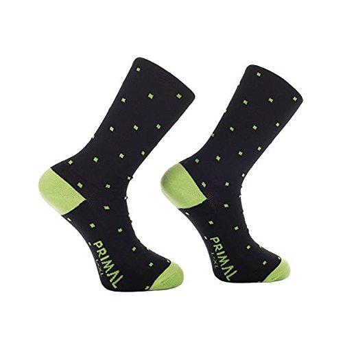 Primal Wear Herren Polka Pixel Cycling Bike Socken, Mehrfarbig, Size 5-9/Small/Medium (Primal Wear-air)
