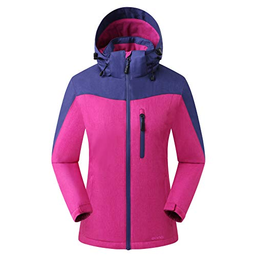 Amazon Marke: Eono Essentials Damen Orebro Skijacke, Astral Aura, S