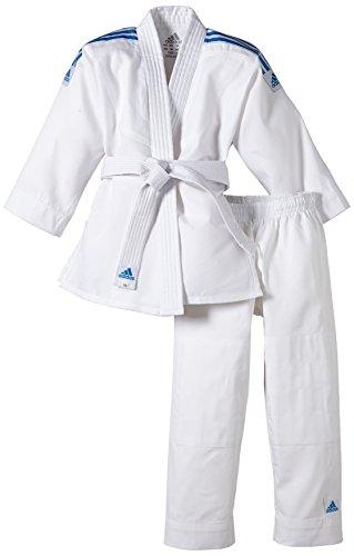 adidas Kinder Judo Anzug Evolution (inkl. Gürtel), Weiß, 110/120, J250E