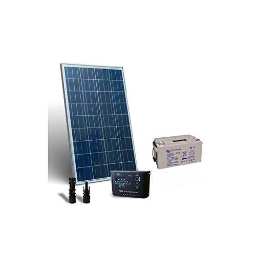 """Kit Solar Pro 130W 12V Placa Solar + Controlador de Carga 10A - PWM + Batería 90Ah El """"Kit Solar Pro son ideales para aquellos que aman y quieren utilizar la energía solar. Ellos son el trampolín perfecto para el enorme potencial que la energía reno..."""