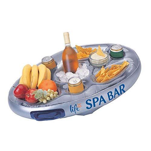 Pick 'n' scegli @ gonfiabili galleggianti spa bar piscina calda vassoio vasca laterale per le bevande food snack