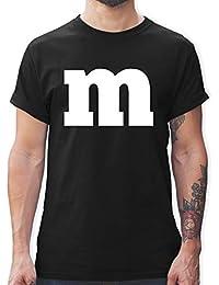 Karneval & Fasching - Gruppen-Kostüm m Aufdruck - Tshirt Herren und Männer T-Shirts
