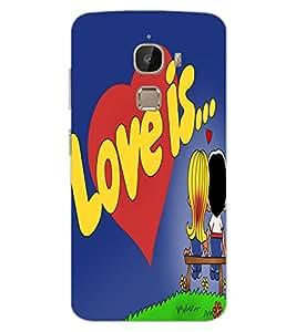 ColourCraft Love Image Design Back Case Cover for LeEco Le 2 Pro