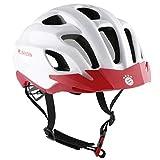 FCB Fahrradhelm | Helm | White Star | weiß | One Size | 52-59 cm