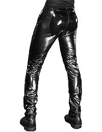 """""""DYLAN"""" Wetlook-Lack-Hose mit Reißverschluss ,schwarz , von Patrice Catanzaro"""