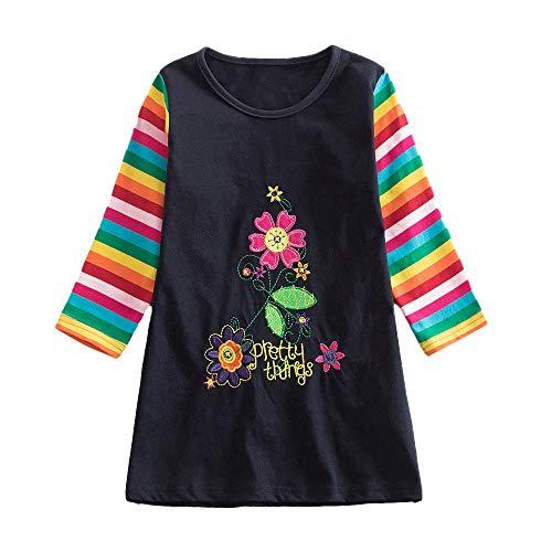 Pageantry Kleinkind Baby Mädchen Kleid Karikatur Hase Bunny Kleider Blumen Langarm Tutu Urlaub Prinzessin Outfit Kleidung