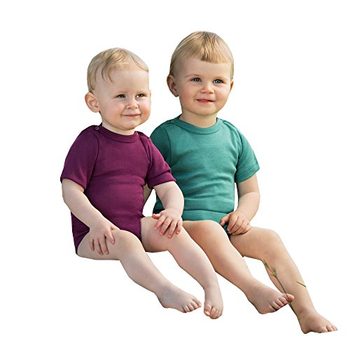 engel kinderkleidung Engel Baby/Kinder Body Kurzarm Bio-Schurwolle/Seide Orchidee 62/68