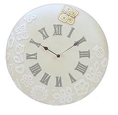 Idea Regalo - THUN Orologio da Parete Grande Prestige Ceramica 37,5 cm h