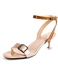 ZHANGYUSEN In primavera e in estate le bende e tacchi alti, il nudo femminile appuntita, il singolo nero scarpe...