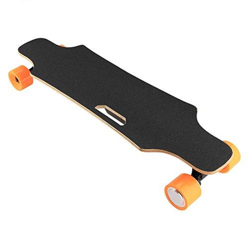 Lonlier Longboard Skateboard Eléctrico con Control Remoto Inalámbrico