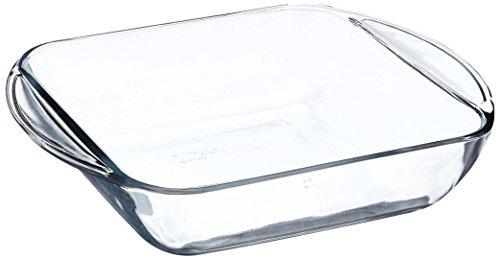 Anchor Hocking 77887 Kuchenform, quadratisch, Glas, 20,3 cm Anchor Hocking Dessert