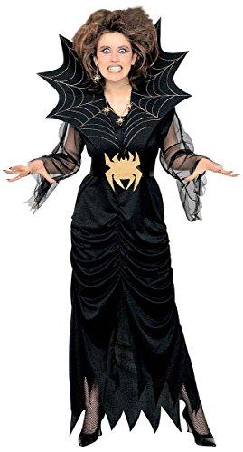 Widmann 39402 - Erwachsenenkostüm Spiderlady, Größe (Spider Kostüm Frau Kind)