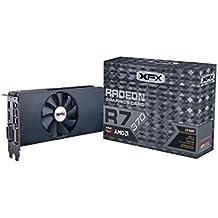 XFX AMD Radeon R7 370 - Tarjeta gráfica de 2 GB (GDDR5, PCI Express 3.0, 975 MHz), color negro