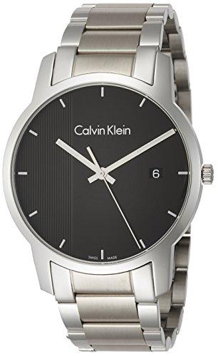 Calvin Klein Homme Analogique Quartz Montre avec Bracelet en Acier Inoxydable K2G2G14Y