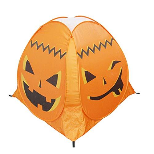 equisiten Halloween Kürbis Zelt Spiel Haus Spukhaus Kind Zelt ()