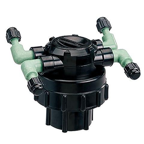 Orbit DripMaster 69005 4-Port Manifold, Adjustable Flow
