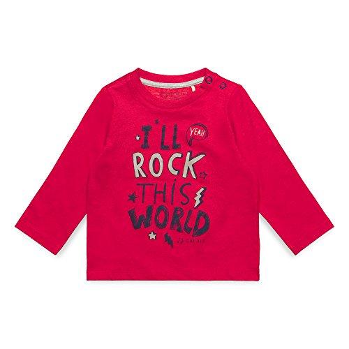 ESPRIT KIDS Baby-Jungen T-Shirt RM1001207, Rot (Tibetan Red 380), 74