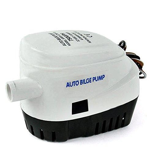 Automatische Tauchpumpe, Marine 750GPH Boot Bilge Vollautomatische selbstansaugende Wasserpumpe 24V