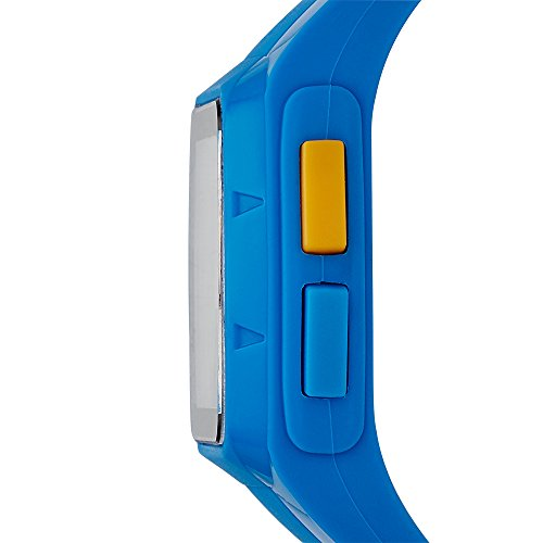adidas 'Duramo' Quartz Plastic and Polyurethane Automatic Watch, Color Blue (Model: ADP3234)