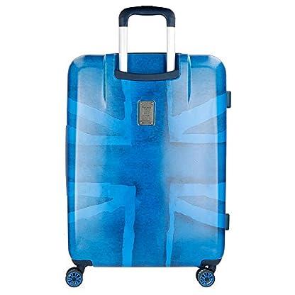 Pepe Jeans Fabio 6098861 Maleta, 69 cm, 81 Litros, Azul
