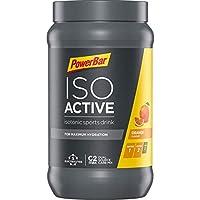 PowerBar Isoactive Orange 600g - Bebida Deportiva Isotónica - 5 Electrolitos + C2MAX