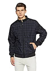 Peter England Mens Jacket (8907306671434_EOW51500015_Small_Medium Brown and Brown)