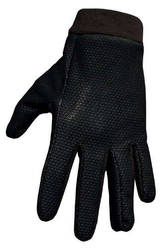 Winddicht / Wasserdicht Thermo-Fleece Innenhandschuhe schwarz - Größe XL