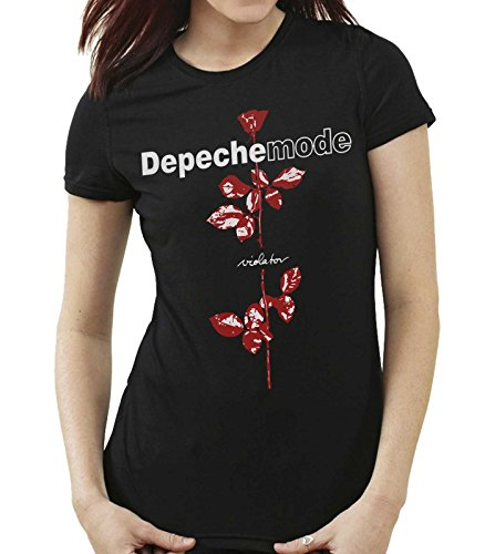 35mm - Camiseta Mujer - Depeche Mode - Violator - Women's T-Shirt, Negra, M
