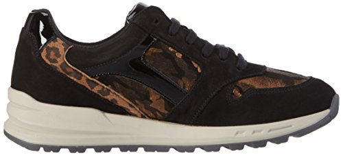 Mephisto Damen Cross Buck.6900/A.13725/V.4200/V.Leo Sneakers Schwarz (Black)